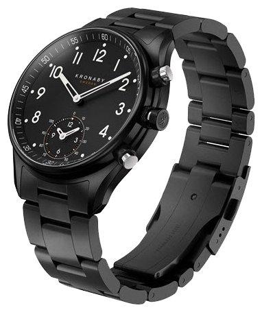 Часы Kronaby Apex (metal bracelet, PVD)