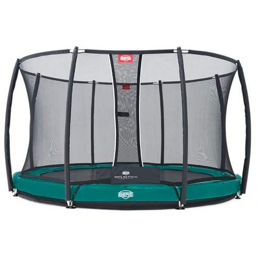 Каркасный батут Berg InGround Favorit + Safety Net Deluxe 270