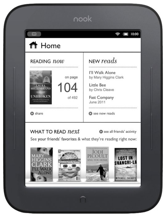 Barnes & Noble Электронная книга Barnes & Noble Nook Simple Touch