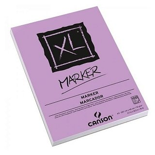 Альбом для маркеров Canson XL Marker 29.7 х 21 см (A4), 70 г/м², 100 л.