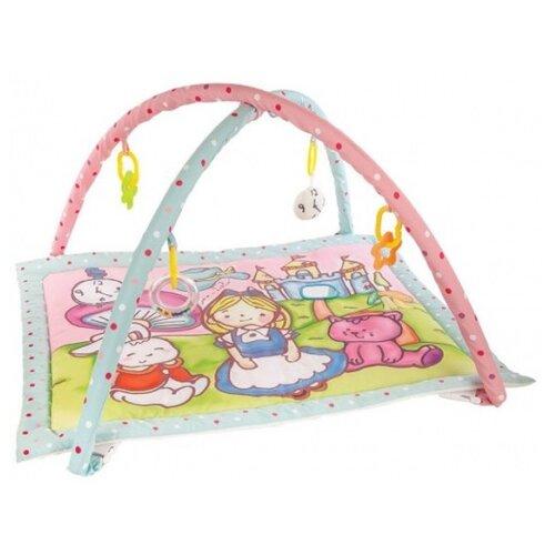 Купить Развивающий коврик Жирафики Алиса и волшебный замок (939352), Развивающие коврики