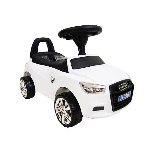 Купить Каталка-толокар RiverToys Audi JY-Z01A со звуковыми эффектами белый, Каталки и качалки