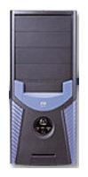 Компьютерный корпус Powerman PM-5500 300W Black/blue