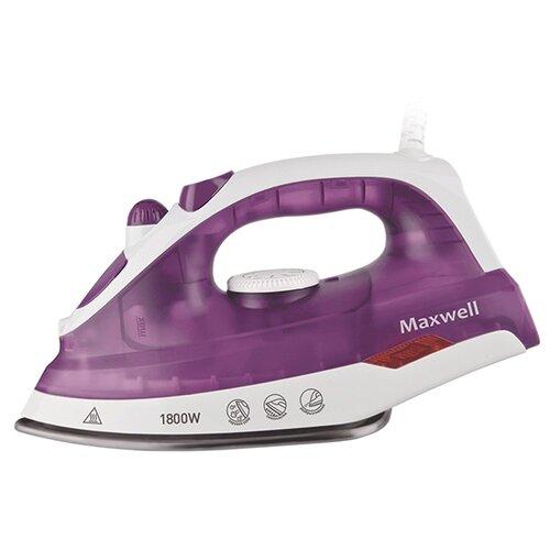 Утюг Maxwell MW-3042 фиолетовый/белыйУтюги<br>