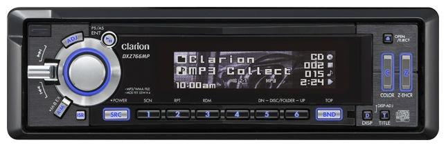 Автомагнитола Clarion DXZ766MP