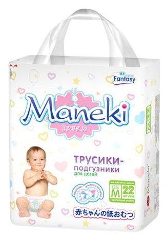 Maneki трусики Fantasy M (6-11 кг) 22 шт.