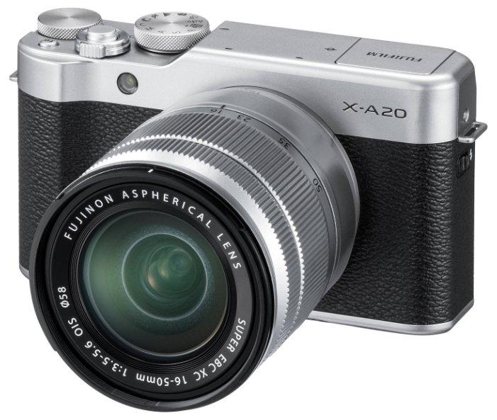 Fujifilm Фотоаппарат со сменной оптикой Fujifilm X-A20 Kit