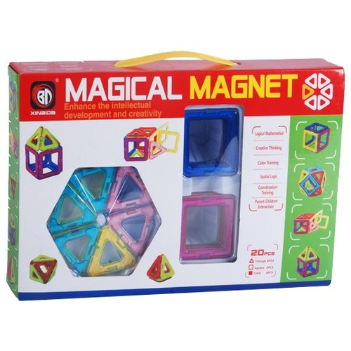 Магнитный конструктор Xinbida Magical Magnet 701-20