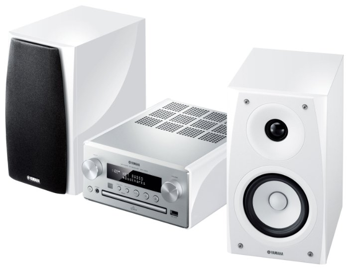 Музыкальный центр YAMAHA PianoCraft MCR-N560 White