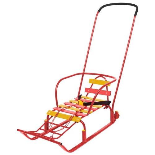 Купить Санки Nika Тимка 8 Комфорт (Т8К) красный, Санки и аксессуары