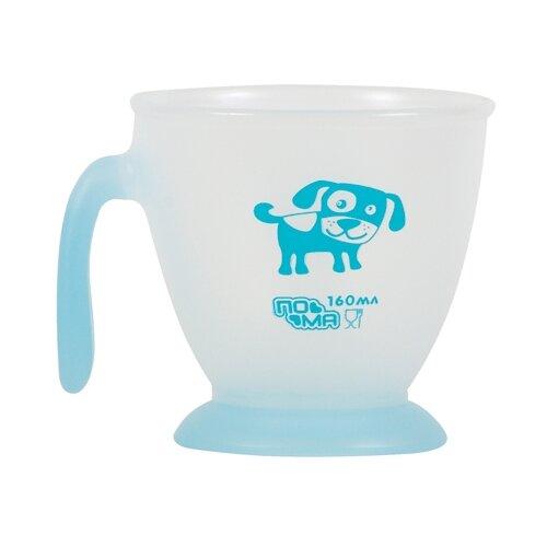 Чашка Пома с одной ручкой 160 мл (2015) голубойПосуда<br>