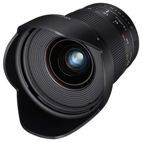 Фото - Объектив Samyang 20mm f/1.8 ED AS UMC Canon EF объектив samyang 50mm f 1 4 as umc canon ef