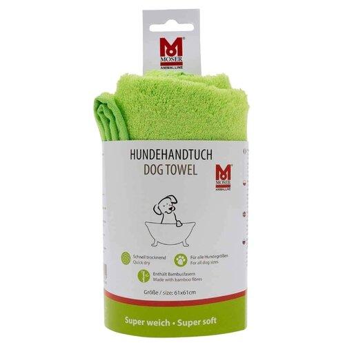 Полотенце MOSER зеленое для домашних животныхКосметика и гигиена<br>