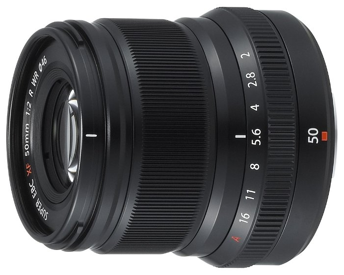 Объектив Fujifilm XF 50mm f/2 R WR черный