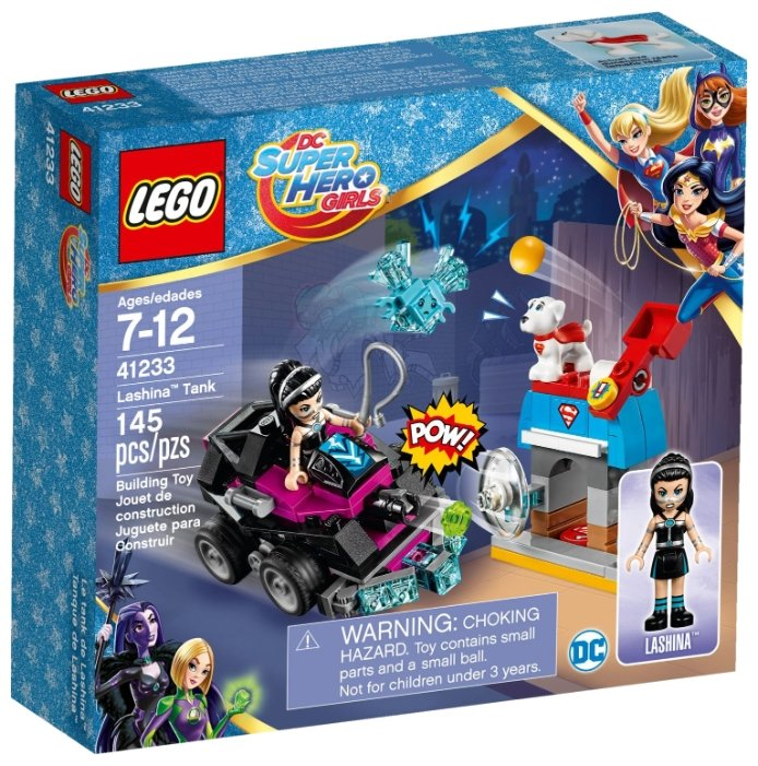 Классический конструктор LEGO DC Super Hero Girls 41233 Танк Лашины