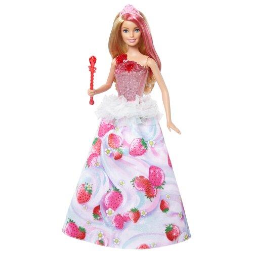Купить Кукла Barbie Конфетная принцесса, 29 см, DYX28, Куклы и пупсы