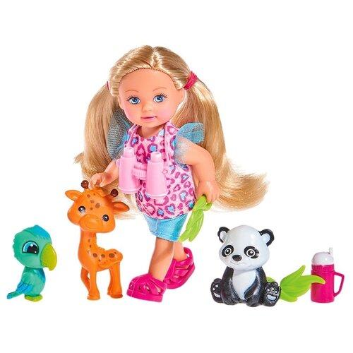 Набор Simba Сафари с Еви 12 см 5733043, Куклы и пупсы  - купить со скидкой