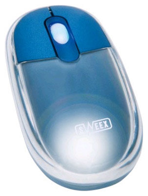 Мышь Sweex MI017 Optical Mouse Neon Blue USB + PS/2