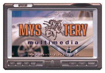 Автомобильный монитор Mystery MTV-650