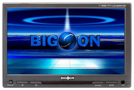 Автомобильный монитор BIGSON S-7030