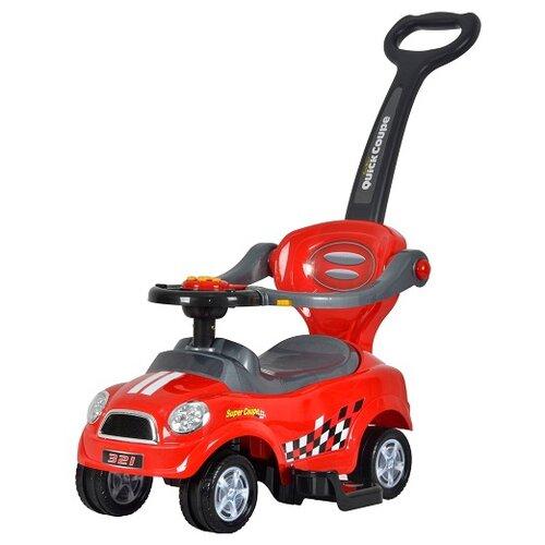 Каталка-толокар Barty Quick Coupe Super Coupe (Z321) со звуковыми эффектами красныйКаталки и качалки<br>