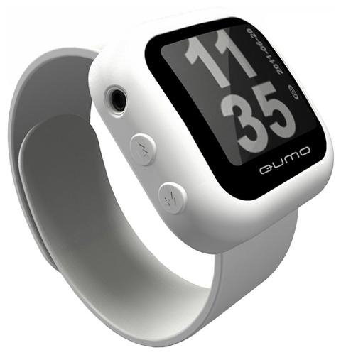 Часы с плеером наручные qumo часы термометр вольтметр автомобильные купить в