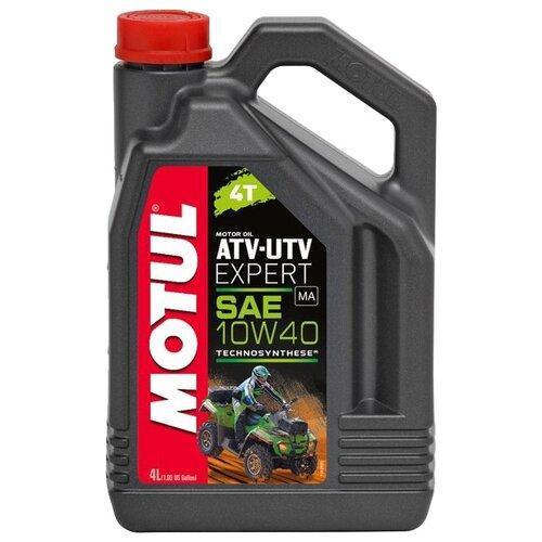 Фото - Полусинтетическое моторное масло Motul ATV-UTV Expert 4T 10W40 4 л масло моторное полусинтетическое 4 тактное для лодочных двигателей motul outboard tech 4t 2л