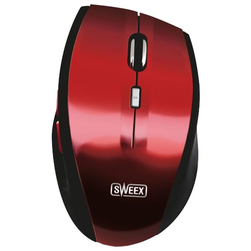 Мышь Sweex MI442 Wireless Mouse Voyager Red USB