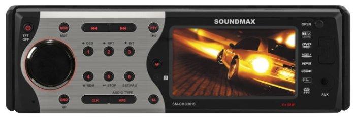 Автомагнитола SoundMAX SM-CMD3016