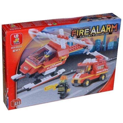 Купить Конструктор SLUBAN Пожарные спасатели M38-B0219, Конструкторы