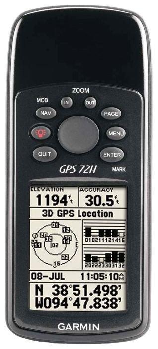Garmin Навигатор Garmin GPS 72H