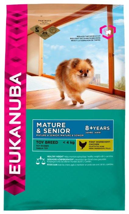 Корм для пожилых собак Eukanuba (для мелких пород)