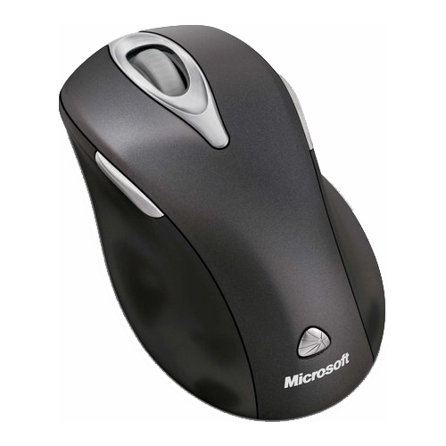 Мышь Microsoft Wireless Laser Mouse 5000 Black USB