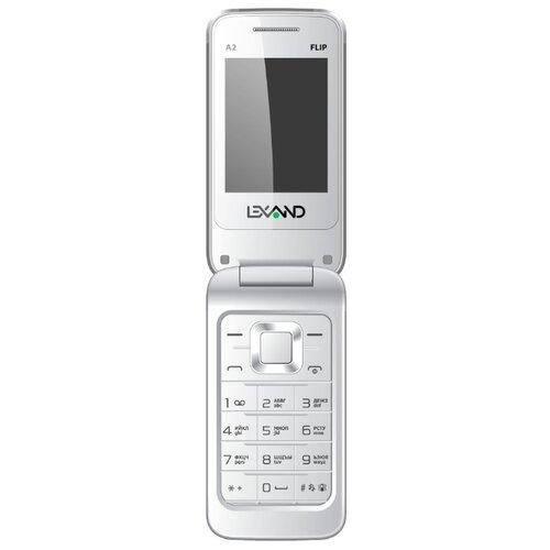 Телефон LEXAND A2 Flip белый