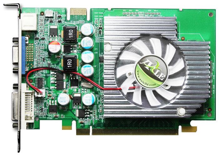 Axle GeForce 8500 GT 460Mhz PCI-E 128Mb 800Mhz 128 bit DVI TV YPrPb