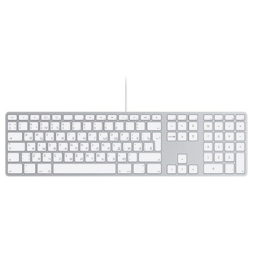 Клавиатура Apple MB110 Wired Keyboard White USB