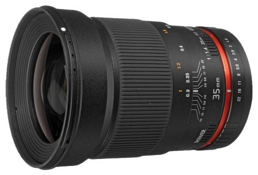 Объектив Bower 35mm f/1.4 Nikon F