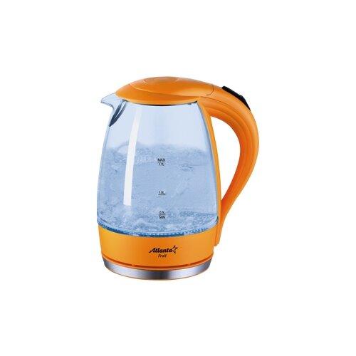 Чайник Atlanta ATH-2461, оранжевый чайник atlanta ath 2461 красный