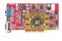 GIGABYTE Видеокарта GIGABYTE Radeon 9800 Pro 380Mhz AGP 128Mb 680Mhz 256 bit DVI TV