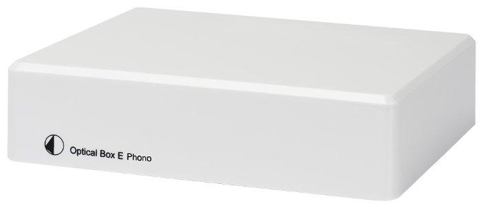 Фонокорректор Pro-Ject Optical Box E Phono white фото 1