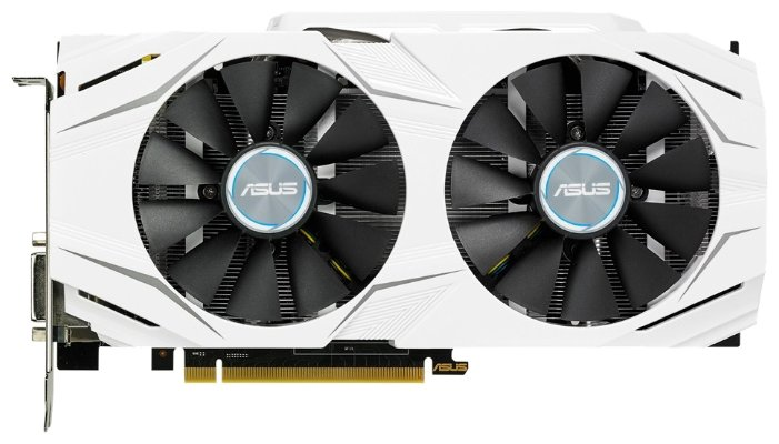 ASUS Видеокарта ASUS GeForce GTX 1060 1506Mhz PCI-E 3.0 6144Mb 8008Mhz 192 bit DVI 2xHDMI HDCP DUAL