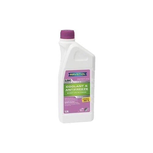Антифриз Ravenol LGC Lobrid Glycerin Coolant PREMIX -40°C 1.5 л