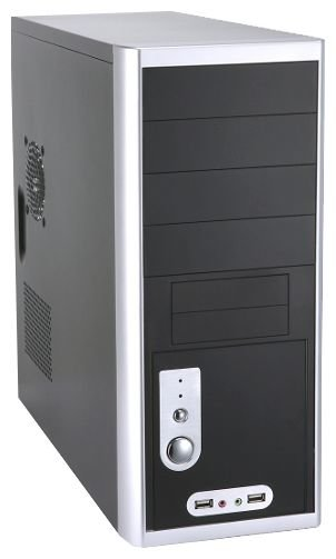 Компьютерный корпус KIMPRO 1812A 430W Black/silver