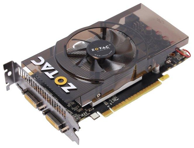 ZOTAC GeForce GTX 550 Ti 900Mhz PCI-E 2.0 1024Mb 4100Mhz 192 bit 2xDVI Mini-HDMI HDCP