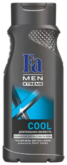 Гель для душа и шампунь Fa Men Xtreme Сool