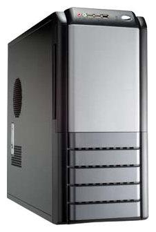 Компьютерный корпус Yeong Yang YY-5605 500W Black/silver
