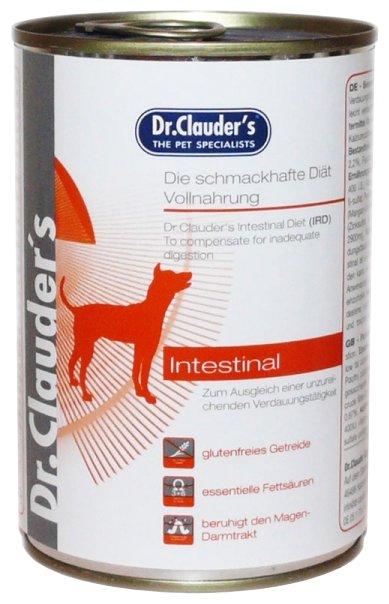 Корм для собак Dr. Clauder's Intestinal diet консервы для собак при заболеваниях кишечника