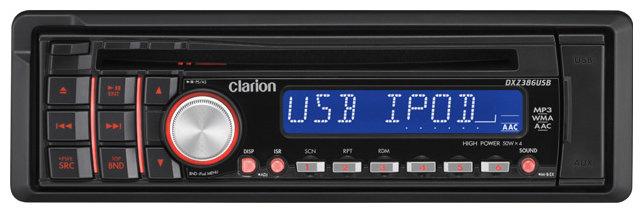 Автомагнитола Clarion DXZ386USB