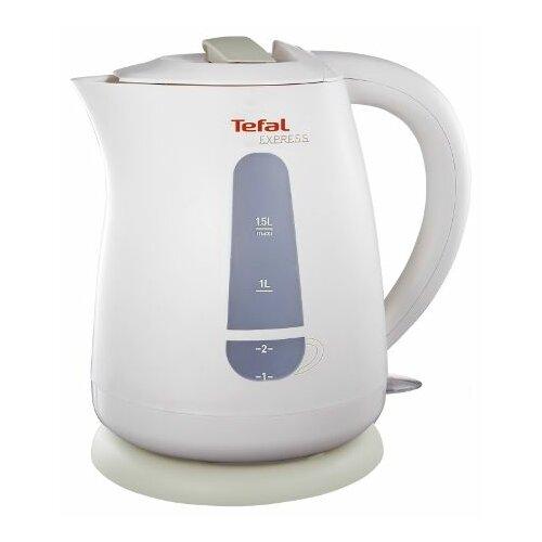 Чайник Tefal KO 299 Express Plastic, белый парогенератор tefal gv9563 pro express ultimate care