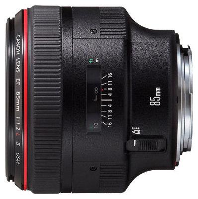 Canon Объектив Canon EF 85mm f/1.2L II USM